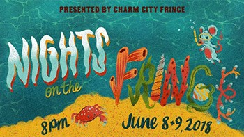 Nights on the Fringe promotional poster
