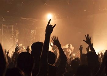 a rock concert