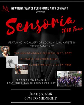 Promotional poster for Sensoria