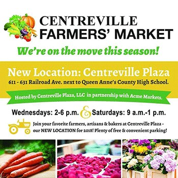 Centreville Farmers Market poster