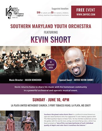 Kevin Short in a powerful orchestral and operatic musical event.