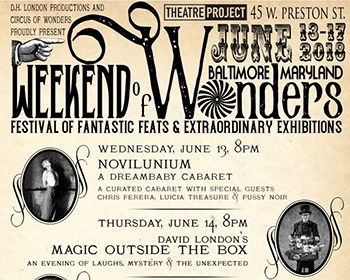 Weekend of Wonder promotional poster