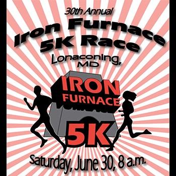 Iron Furnace 5K Poster