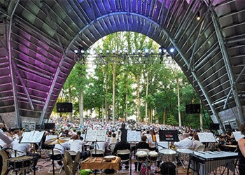 The Columbia Orchestra at The Chrysalis, Merriweather Park, Symphony Woods