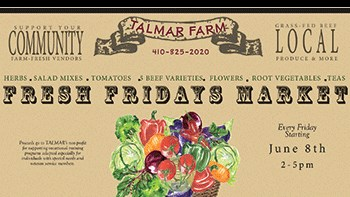 Fresh Fridays at Talmar Farms Poster
