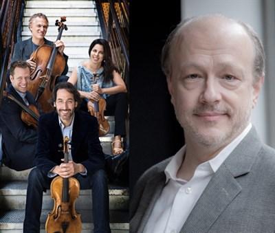 Pacifica Quartet and Hamlin
