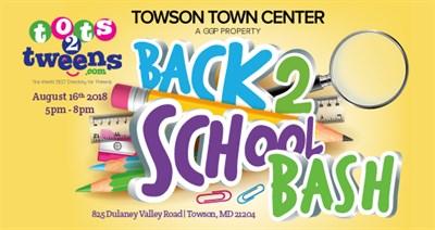 Back2School Bash Towson Poster