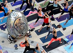 AVAM & YogaWorks welcome the summer solstice