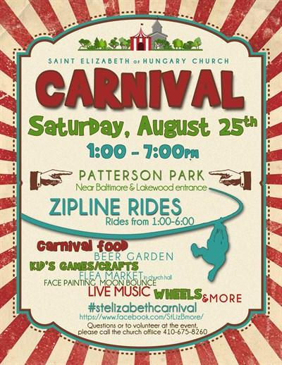 St. Elizabeth Summer Carnival 2018 Poster