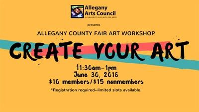 Allegany County Fair Art Workshop