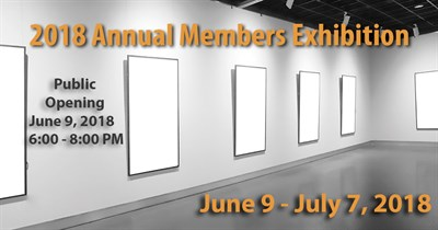 AAC 17th Annual Members Exhibition Banner