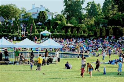 summer concerts at Ladew Gardens