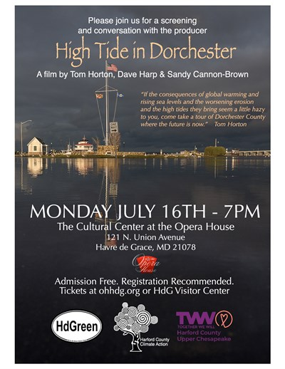 High Tide in Dorchester Flyer