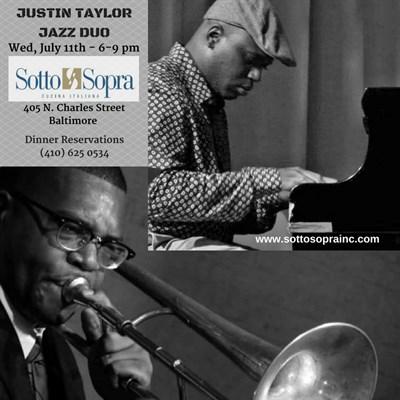 Justin Taylor playing Jazz