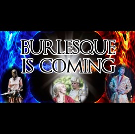 Burlesque Is Coming Poster