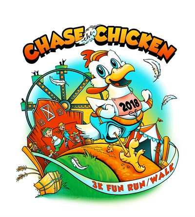 The Chase the Chicken 3K Fun Run/Walk is set for Aug. 18 at the Wicomico County Fair.