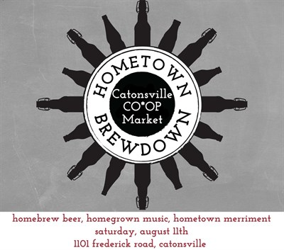 Catonsville Co-Op Market Hometown Brewdown Logo