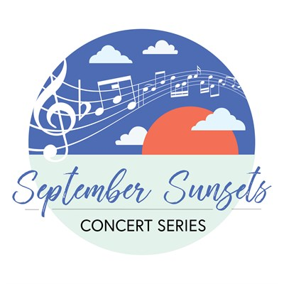 September Sunsets Concert Series Logo