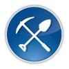A shovel and a pick axe