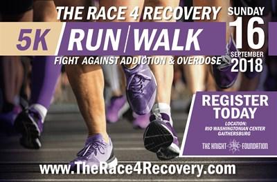 Race4Recovery 5K flyer