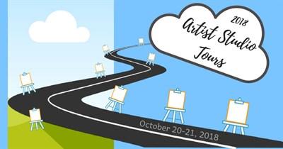 Mountain Maryland Artist Studio Tours Poster