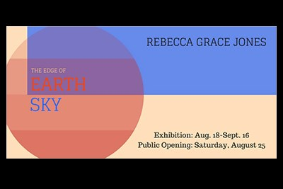 Poster for Rebecca Grace Jones Exhibition