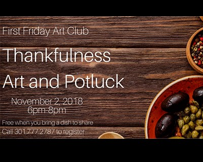 November's First Friday Art Club Banner