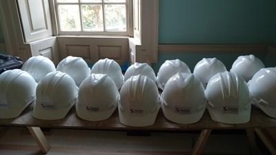 Hard Hats at the James Brice House