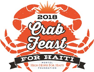 Crab Feast for Haiti logo