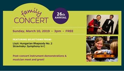 Family Concert Banner