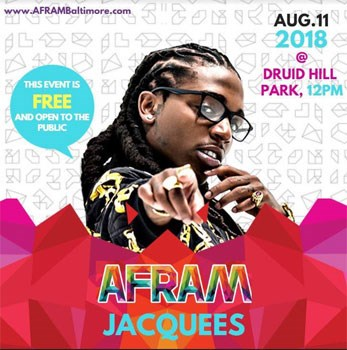 Jacquees performs at AFRAM