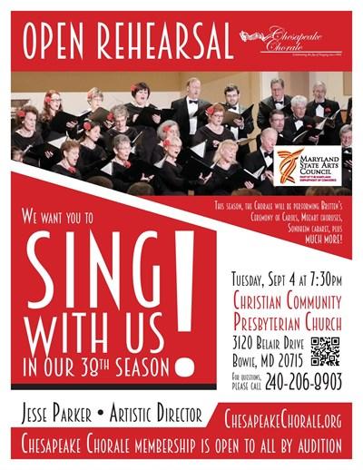 Chesapeake Chorale Poster