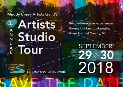 Studio Tour 2018 Poster