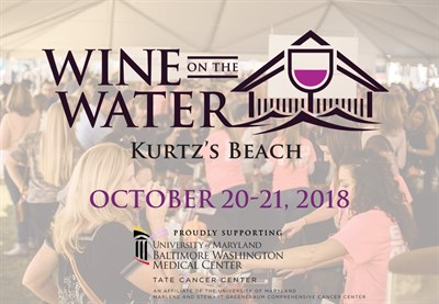 Wine On The Water at Kurtz's Beach - October 20-21, 2018