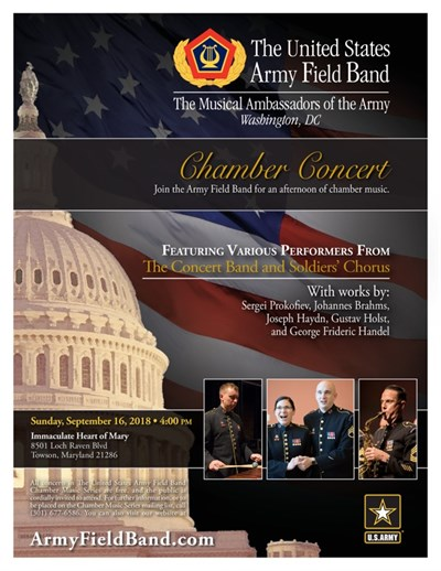 US Army Field Band Poster