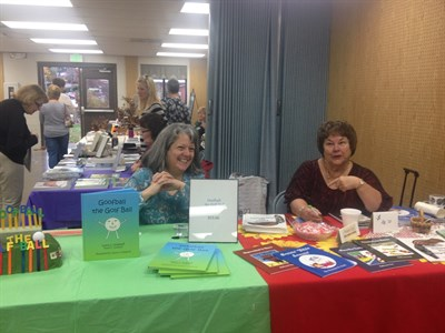 Authors Bonnie Hull and Laura Golaboff at 2015 event