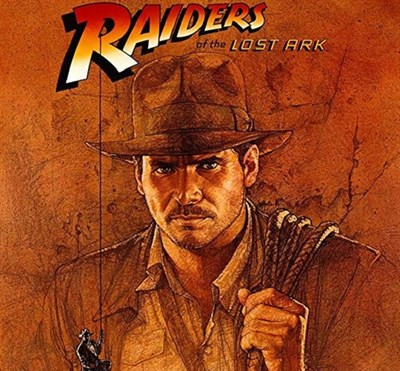 Raiders of the Lost Ark movie cover