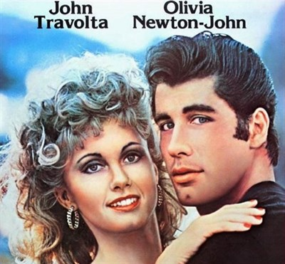 photo of grease movie cover