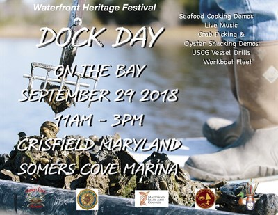 Dock Day on the Bay Poster