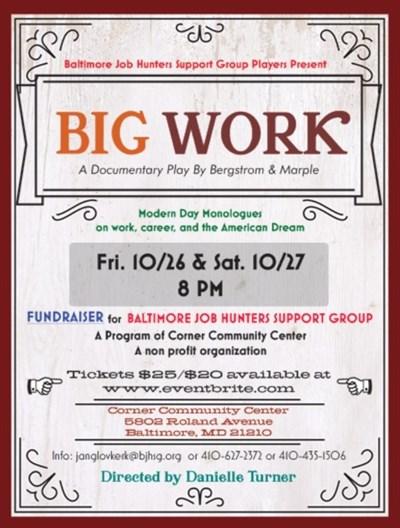 BIG WORK Poster
