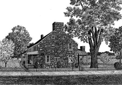 Jacob Hess House ca. 1768-1777
