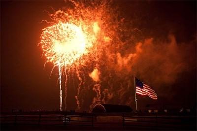 Fort McHenry Fireworks