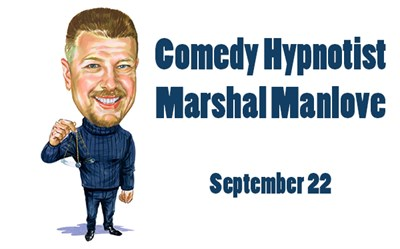 Comedy Hypnotist Marshal Manlove