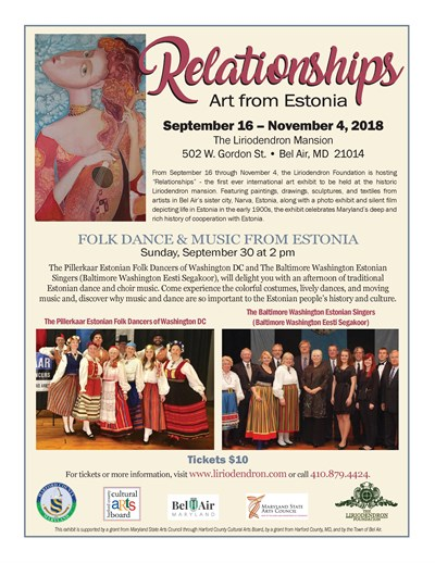 Folk Dance and Music From Estonia flyer