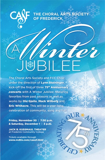 A Winter Jubilee Concert Poster