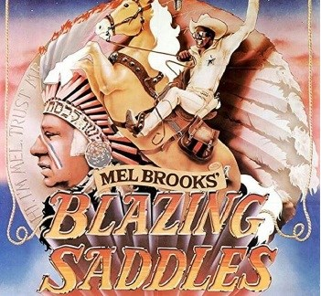 blazing saddles movie cover