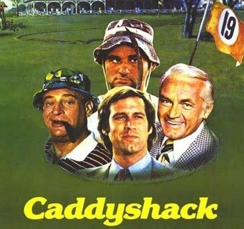 image of caddyshack movie cover