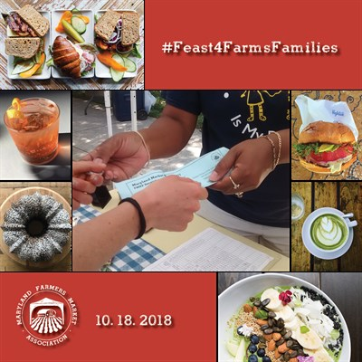 Feast For Farms and Families  Flyer