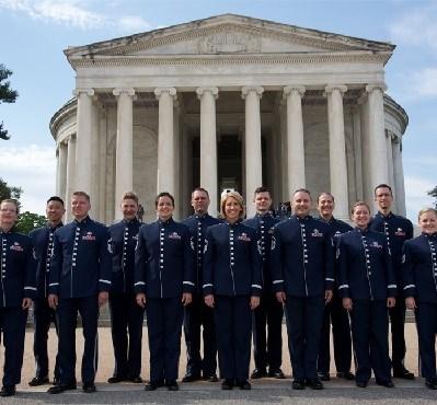 photo of singing sergeants