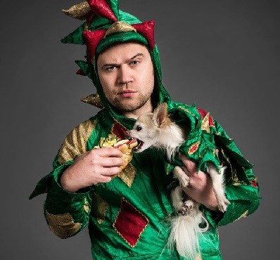 photo of piff the magic dragon and mr. piffles